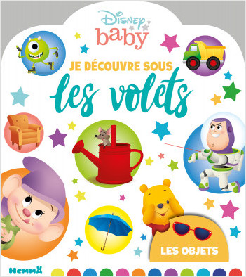 Disney Baby - Je découvre sous les volets - Les objets - Livre à volet - Dès 2 ans