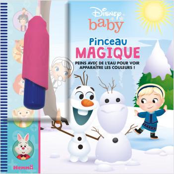 Disney Baby - Pinceau magique - Livre avec pinceau magique - Dès 3 ans