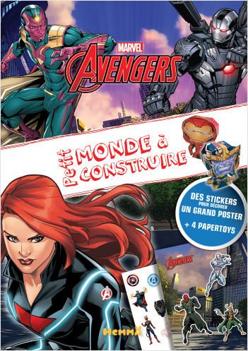 Marvel Avengers - Petit monde à construire - Loisirs créatifs - Dès 4 ans