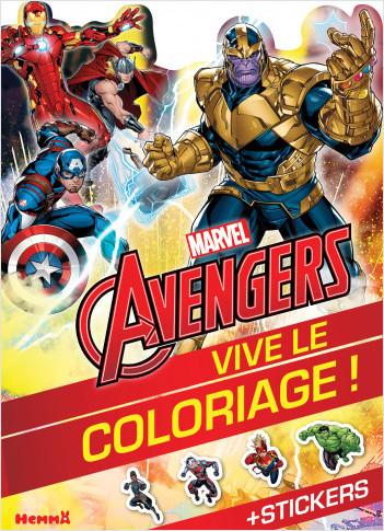 Marvel Avengers - Vive le coloriage ! (Thanos et Avengers)