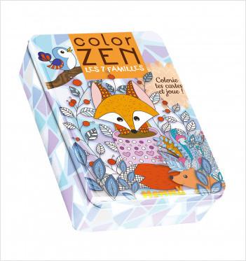 Color zen - Les 7 familles