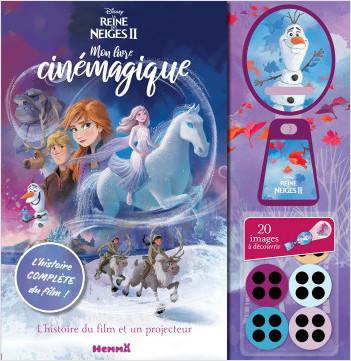 Disney La Reine des Neiges 2 - Mon livre cinémagique - Lecture album enfant avec projecteur - Dès 3 ans