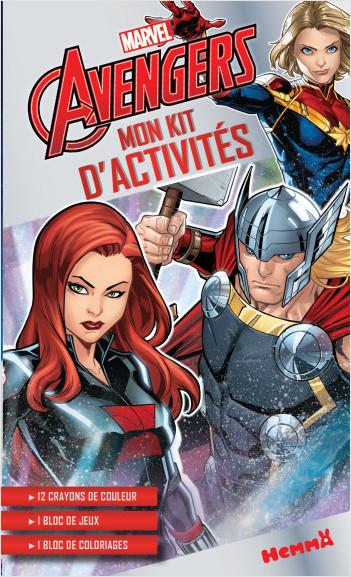 Marvel Avengers – Mon kit d'activités – Kit d'activités et de coloriage – Dès 5 ans