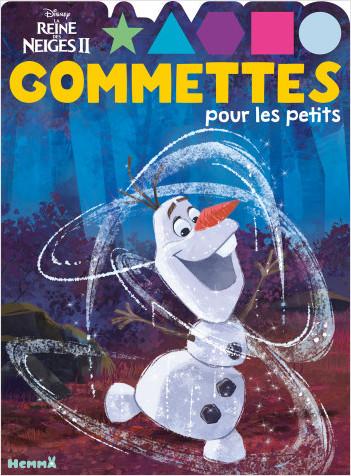 Disney La Reine des Neiges 2 – Gommettes pour les petits  – Livre de gommettes – Dès 4 ans