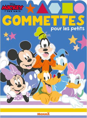 Disney Mickey et ses amis – Gommettes pour les petits  – Livre de gommettes – Dès 4 ans