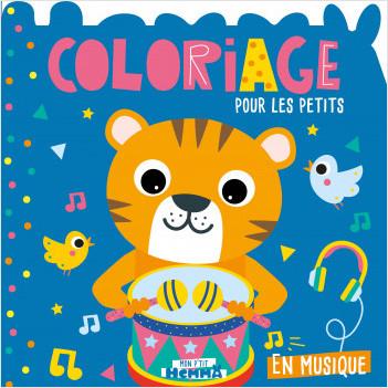 Mon P'tit Hemma - Coloriage – En musique - Album de coloriage – dès 3 ans