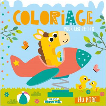 Mon P'tit Hemma - Coloriage – Au parc – Album de coloriage – dès 3 ans