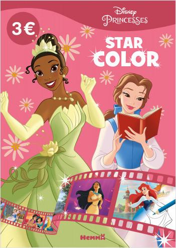Disney Princesses – Star Color – Livre de coloriage – Dès 4 ans