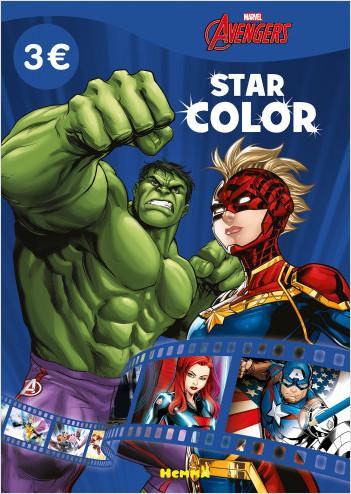 Marvel Avengers – Star Color – Livre de coloriage – Dès 4 ans