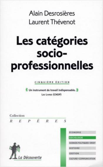 Les catégories socioprofessionnelles