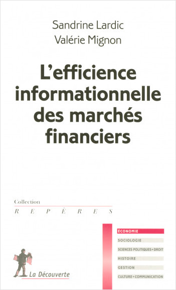 L'efficience informationnelle des marchés financiers