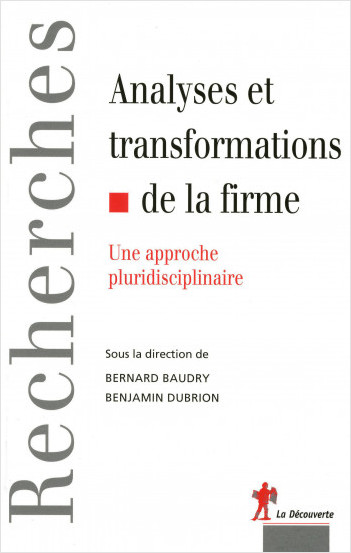 Analyses et transformations de la firme