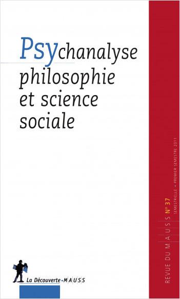 Psychanalyse, philosophie et science sociale