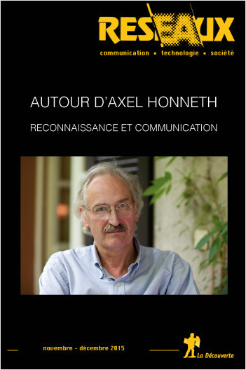 Autour d'Axel Honneth