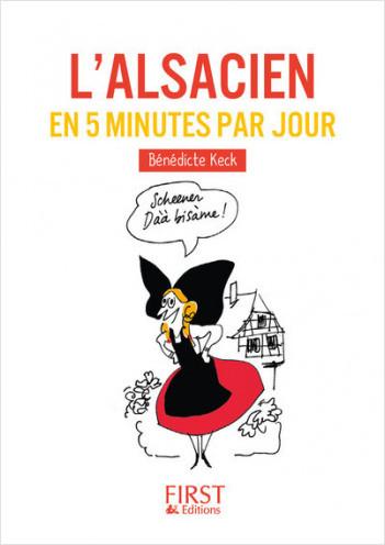 Petit Livre - L'alsacien en 5 minutes par jour