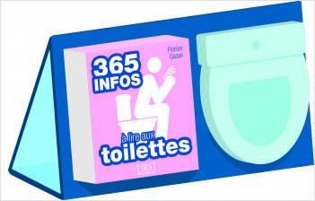 365 infos à lire aux toilettes - Almanach + bloc-notes