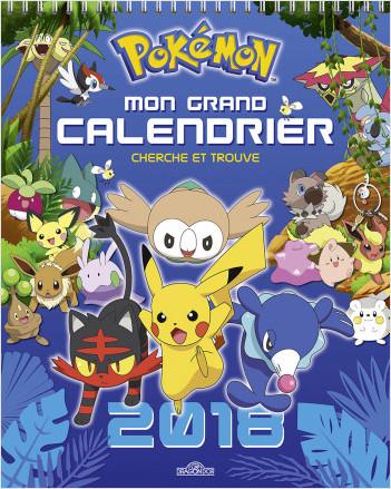 Pokémon - Mon grand calendrier Cherche et Trouve