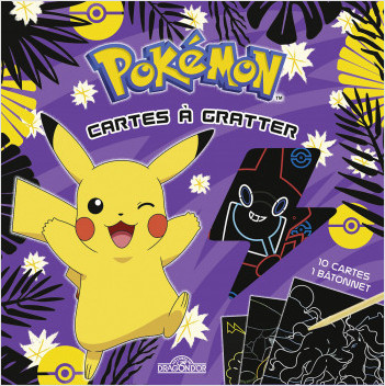Mes cartes à gratter - Pikachu à Alola