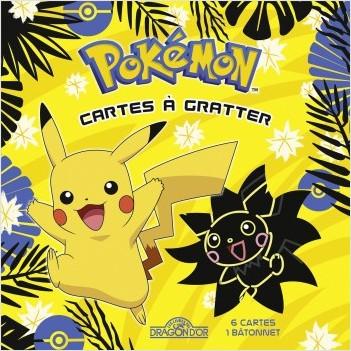Pokémon - Mes cartes à gratter - Pikachu