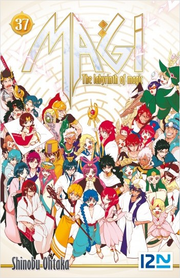 Magi - The Labyrinth of Magic - tome 37